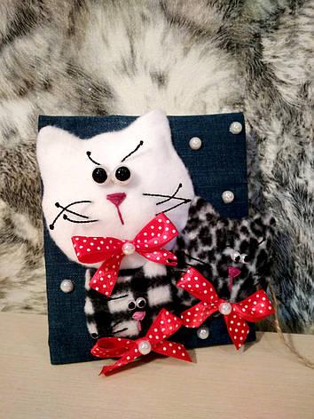 Поздравительная открытка Веселые коты, фото 2
