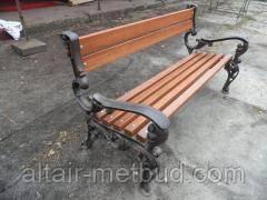 Боковина (опора) для скамейки, лавки садовой  Премиум