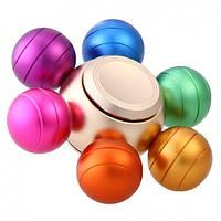 Spinner Спиннер металлический шестиконечный цветные шарики