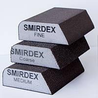 Абразивная губка комби Smirdex 100*70*25мм
