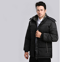 Теплая мужская зимняя куртка. Модель 6102