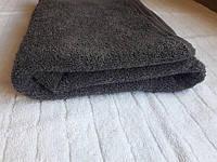 Полотенце махровое Азербайджан 70х140 темно-серое