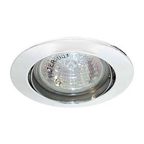 Поворотный встраиваемый светильник Feron DL308 MR16 G5.3 WT белый
