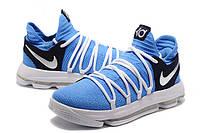 Мужские баскетбольные кроссовки Nike Zoom KD10 EP (Blue/White ), фото 1