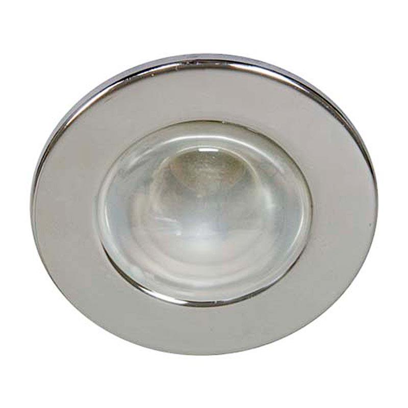 Не поворотный встраиваемый светильник Feron 1713/DL48 R50 E14 CM хром