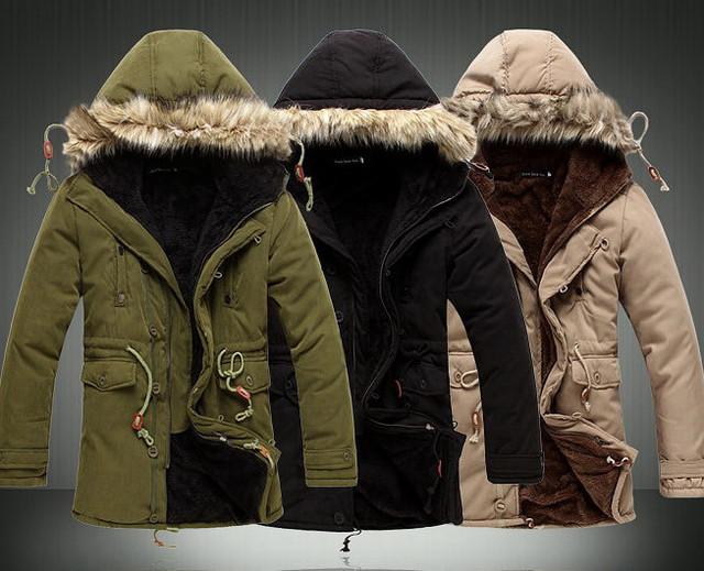Мужские зимние куртки, парки (в наличии)
