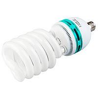 Флуоресцентная лампа Fotobestway 85 Вт, E27, 5500 K  - лампа для студийного света