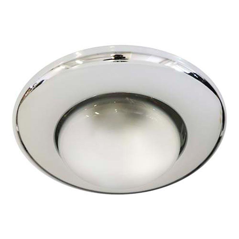 Не поворотный встраиваемый светильник «Сфера» Feron 2767 R50 E14 CHROME хром