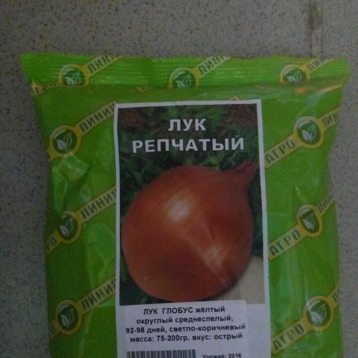 Семена лука сорт Глобус желтый   1кг