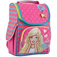 Рюкзак каркасный 1 Вересня H-11 Barbie rose (553275)