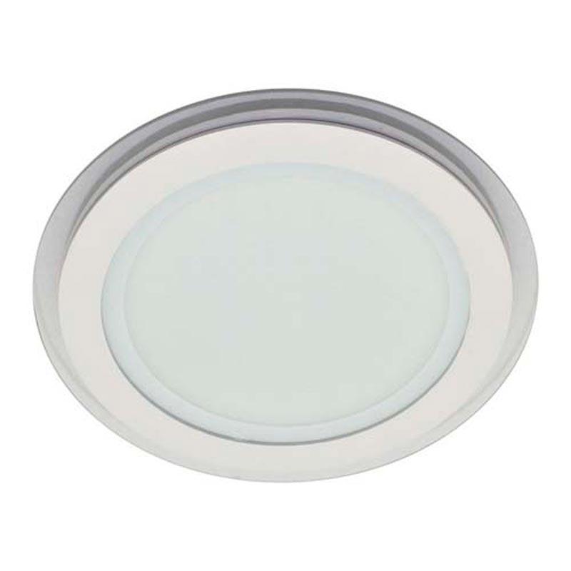 Светильник LED downlight со стеклом врезной 6W круг Feron AL2110 6W 480Lm 5000K белый нейтральный