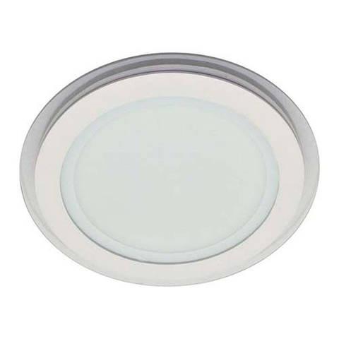 Светильник LED downlight со стеклом врезной 20W круг Feron AL2110 20W 1600Lm 5000K белый нейтральный