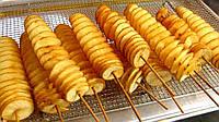 Палочки для картофельных чипсов квадратные