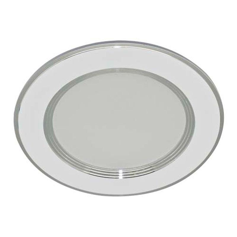 Светильник LED downlight врезной 7W Feron AL527 7W 560Lm 2700K WT алюминий белый, теплое свечение