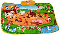 Детский развивающий коврик для малышей Файна ферма 3455
