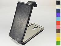 Откидной чехол из натуральной кожи для Xiaomi Redmi Note 3