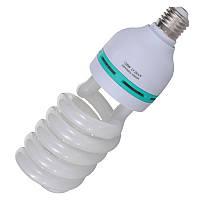 Флуоресцентная лампа Fotobestway 135 Вт, E27, 5500 K  - лампа для студийного света