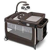 Кроватка-манеж Lullaby Dream, с подвесной игрушкой Chicco 79113.26
