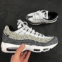 Женские кроссовки Nike Air Max 95 Premium Safari(ТОП РЕПЛИКА ААА+)