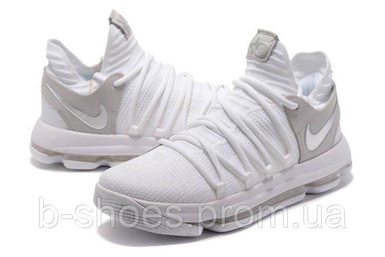Мужские баскетбольные кроссовки Nike Zoom KD10 EP (White)