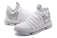 Мужские баскетбольные кроссовки Nike Zoom KD10 EP (White), фото 1