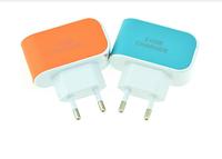 Кабель адаптер с 3 портами USB (зарядное устройство 220V 3.1A 3XUSB Charger)