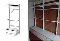 Мебель для магазина одежды металлические стойки