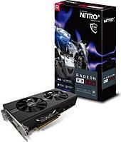 Видеокарта Sapphire RADEON RX 580 NITRO+, 8GB GDDR5 (256 Bit)