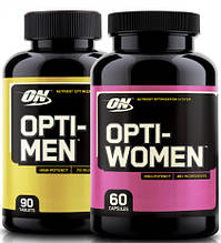 Opti-Men 90 tab + Opti-Women 60 caps