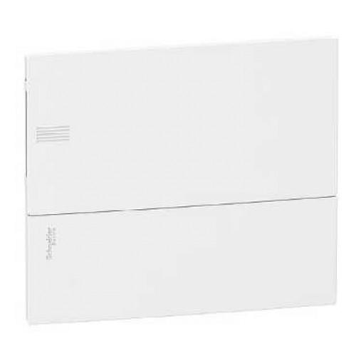Щит «Mini Pragma» 12-модулей цвет- белый с белой дверцей MIP22112 (в сборе)