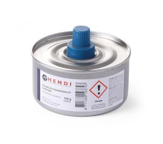 Гель-топливо 145 г., 24 шт. с фитилем для чафиндиша, мармитов и фондю Hendi