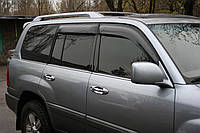 Дефлекторы окон широкие Toyota Land Cruiser 100 / Lexus LX 470 1998-2007