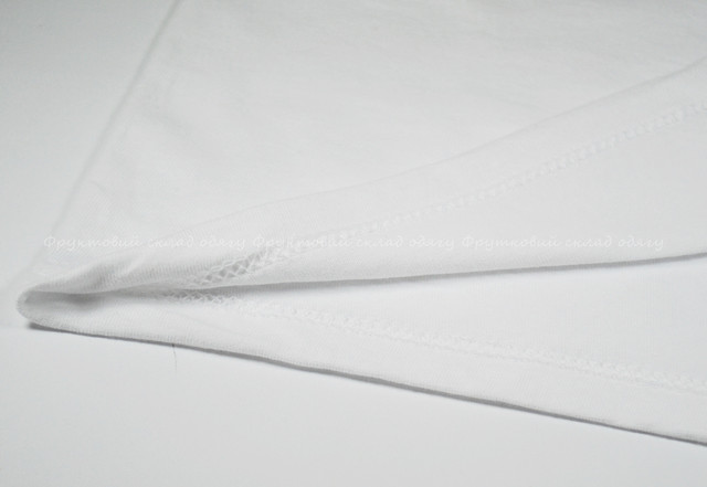 Белая детская легкая футболка