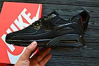Мужские кроссовки Nike Air Max 90 Ultra BR All Black