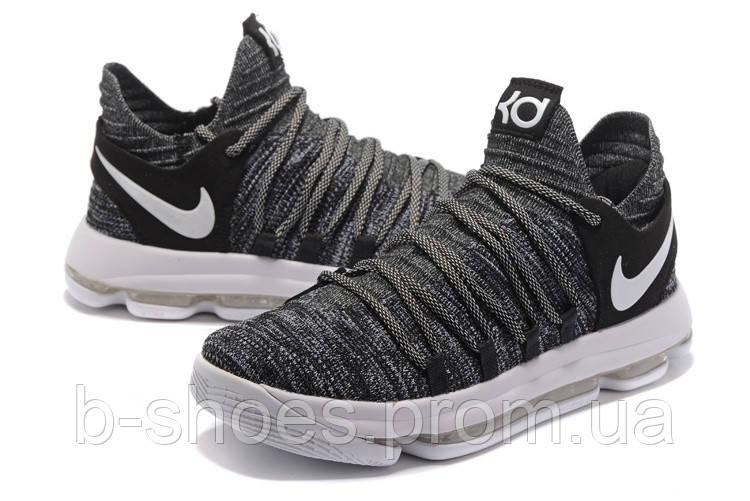 Мужские баскетбольные кроссовки Nike Zoom KD10 EP (Grey)