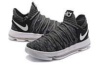 Мужские баскетбольные кроссовки Nike Zoom KD10 EP (Grey), фото 1