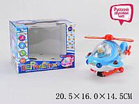 Музыкальная игрушка вертолет, QS139