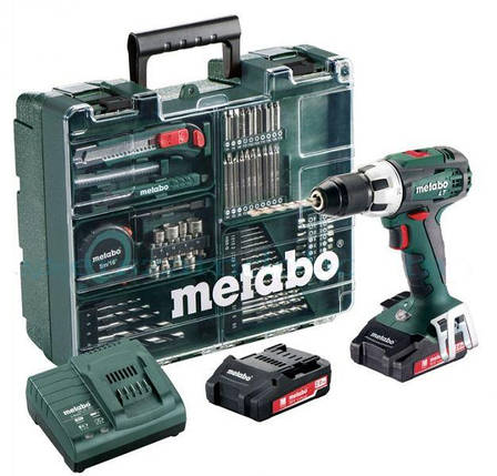 Шуруповерт Metabo BS 18 LT Set Mobile Workshop (602102600), фото 2