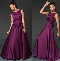 Платье летнее, нарядное, фиолетовое. /8 цветов/