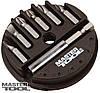 Насадки отвёрточные набор 7 штук с магнитом Mastertool (40-0381)