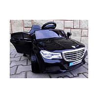 Eлектромобіль Cabrio B5-шкiряне сидіння + колеса гумові EVA