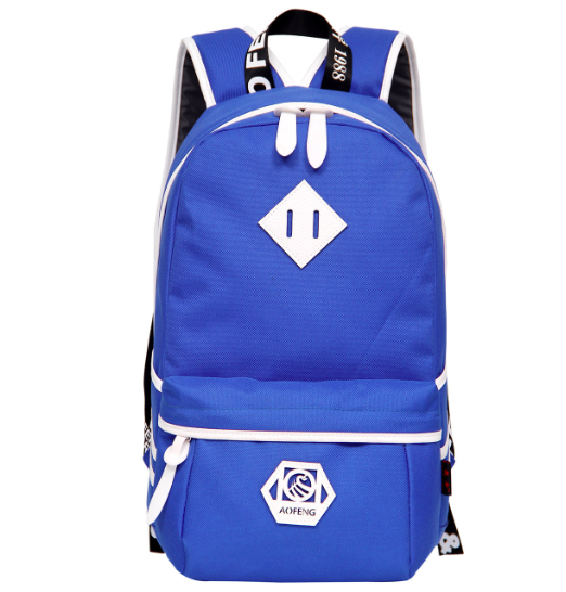 Рюкзак городской Aofeng Голубой