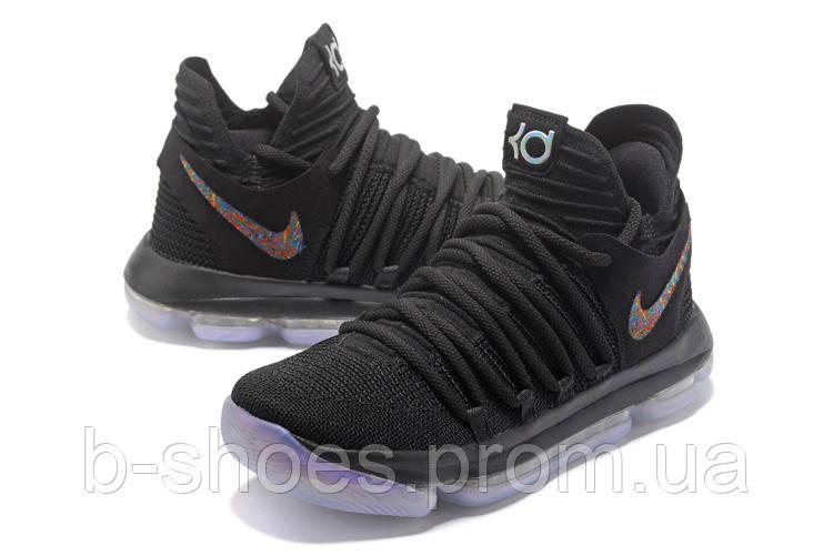 Мужские баскетбольные кроссовки Nike Zoom KD10 EP (Black)