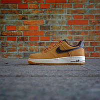 Мужские кроссовки Nike Air Force 1 Low Boot Wheat & Baroque Brown