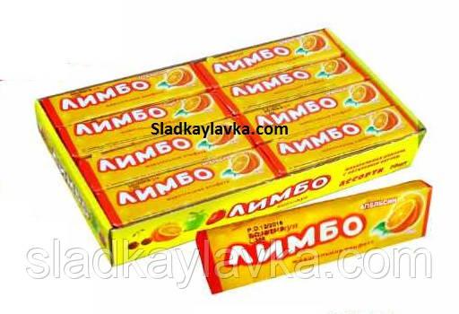 Жевательная конфета Лимбо дисплей  24 шт (Tayas)
