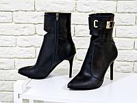 Эксклюзивные ботинки-итальянская кожа 36-40р
