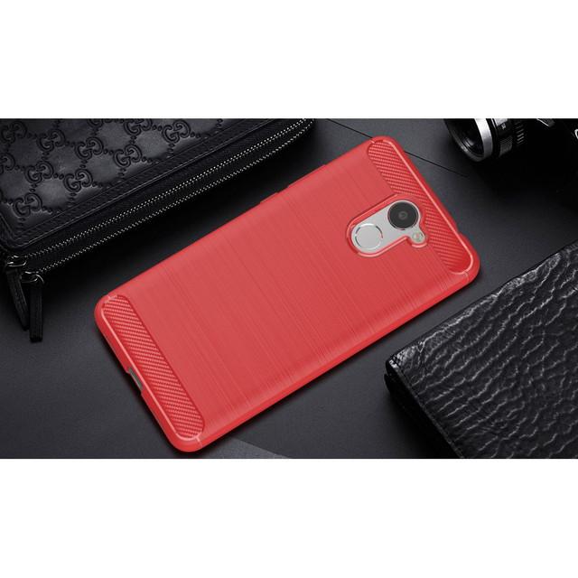 чехол накладка на Huawei Y7 Prime 2017 силиконовый красный