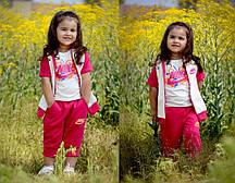 Детский стильный костюм - тройка  ЕВ96-1