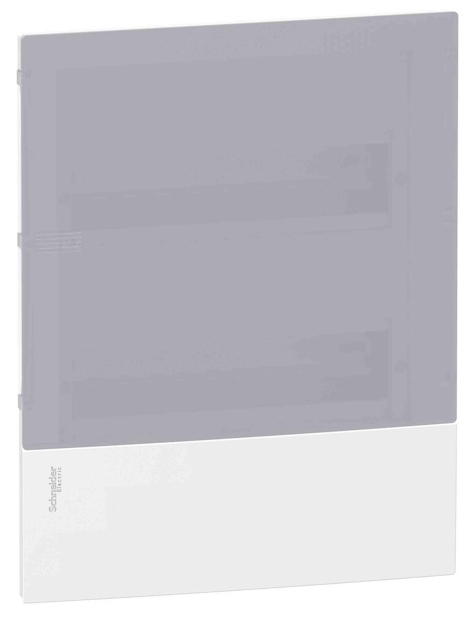 Щиток Mini Pragma 24-модуля цвет- белый с дымчатой дверцей MIP22212T (в сборе)