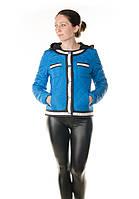 Синяя куртка женская Snow Grace осень, весна, фото 1